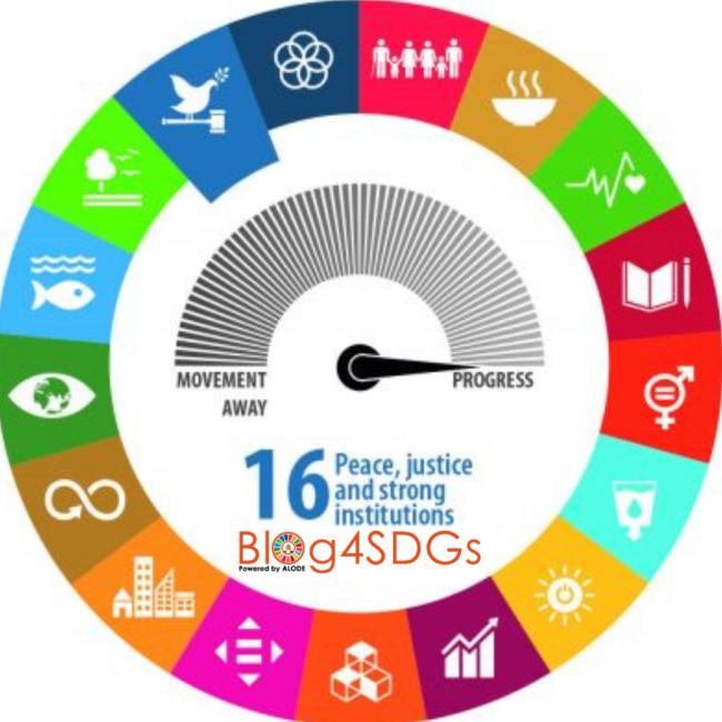 Blog4sdgs - SDGs16